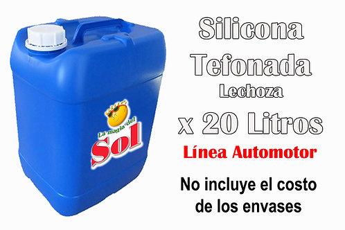 Silicona Teflonada X 20 Litros ($ 207,00 x Litro)