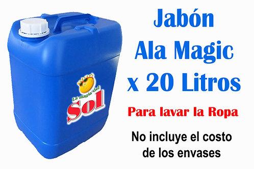 Jabón Ala Magic X 20 Litros