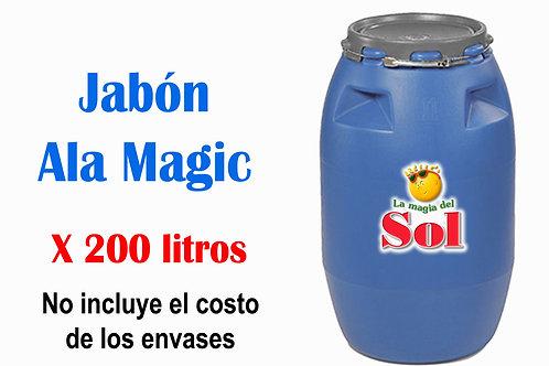 Jabón Ala Magic X 200 Litros ($26,50 x Litro)