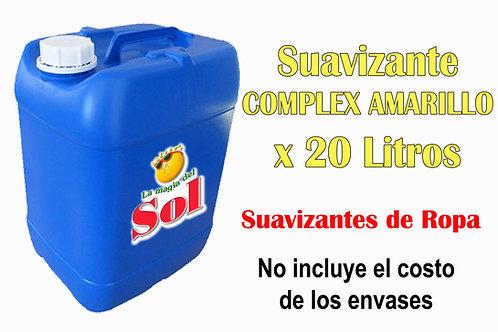 Suavizante Complex Amarillo X 20 Litros