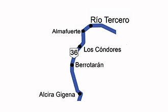 Zona 4 -Ruta 36 a Río Tercero