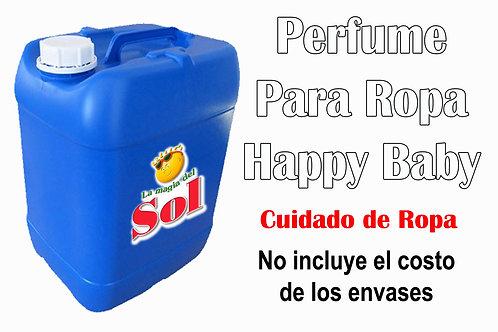 Perfume p/Ropa Happy Baby X 20 Litros