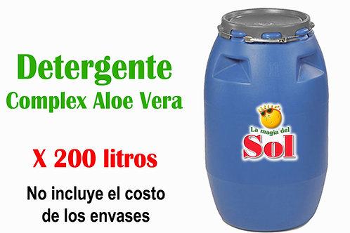 Detergente Complex Aloe Vera X 200 Litros