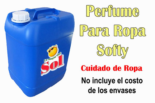 Perfume p/Ropa Softy X 20 Litros