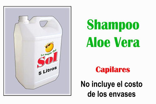 Shampoo Aloe Vera X 5 Litros