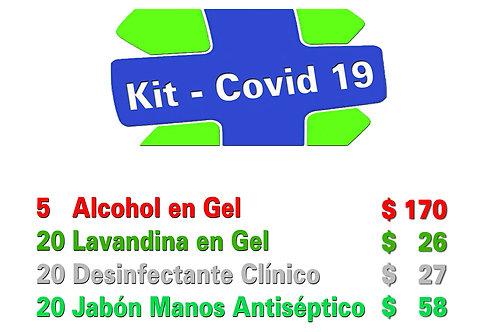 Kit Covid-19 de 4 Productos