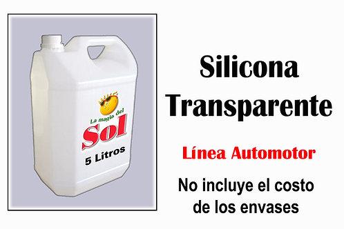 Silicona Transparente X 5 Litros ($ 207,00 x Litro)