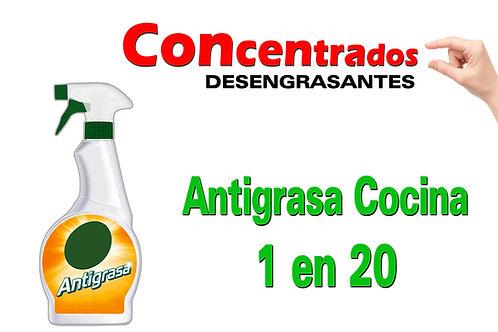 Concentrado Antigrasa Cocina 1 en 20 X 1 Litro