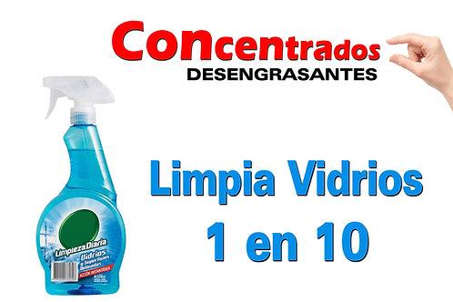 Concentrado Limpia Vidrios 1 en 10 X 1 Litro