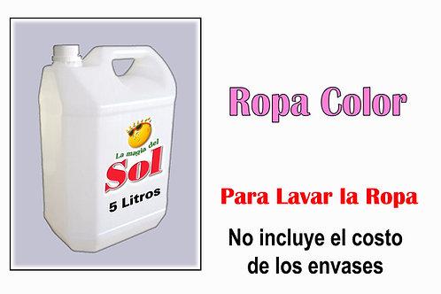 Ropa Color X 5 Litros