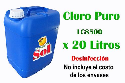Cloro Puro X 20 Litros LC8500