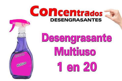 Concentrado Limpiador Multiuso 1 en 20 X 1 Litro
