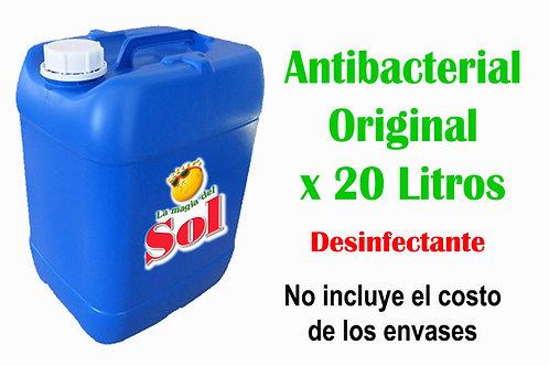Antibacterial Original X 20 Litros ($36,00 x Litro)