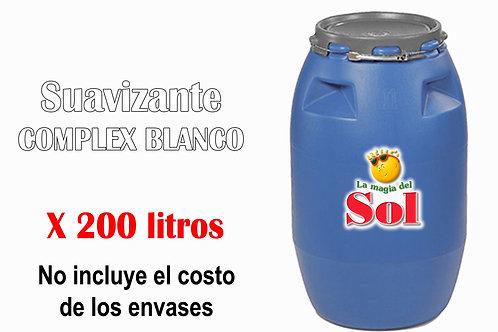 Suavizante Complex Blanco X 200 Litros  ($31 x Litro)