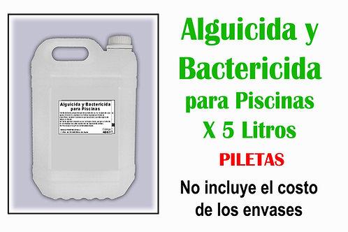 Alguicida y Bactericida para Piscinas X 5 Litros