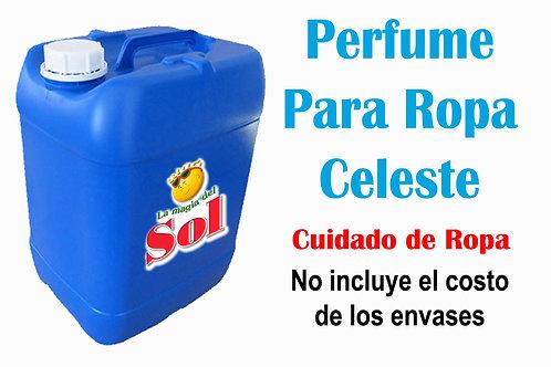 Perfume p/Ropa Celeste X 20 Litros ($ 198,00 x Litro)