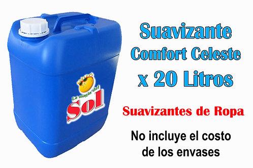 Suavizante Comfort Celeste X 20 Litros