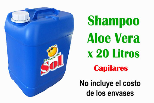 Shampoo Aloe Vera X 20 Litros