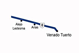 Zona 8 -Ruta 8 a Venado Tuerto