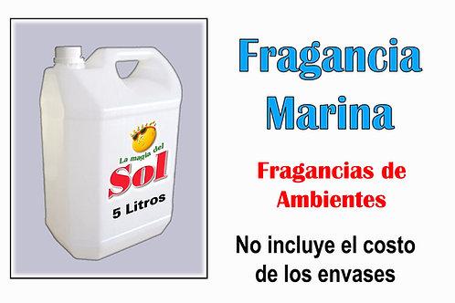 Fragancia Marina X 5 Litros