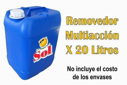 Removedor Multiacción X 20 Litros