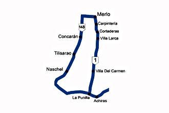 Zona 10 -Ruta de la Costa a Merlo