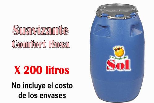 Suavizante Comfort Rosa X 200 Litros ($18 x Litro)