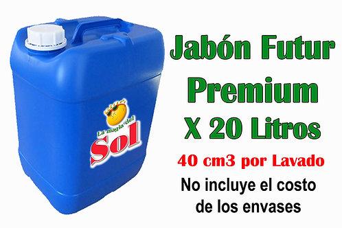 Jabón Futur Premium X 20 Litros