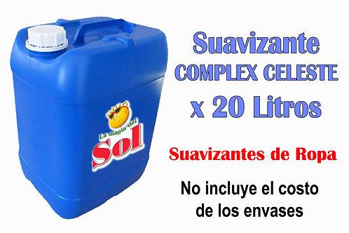 Suavizante Complex Celeste X 20 Litros