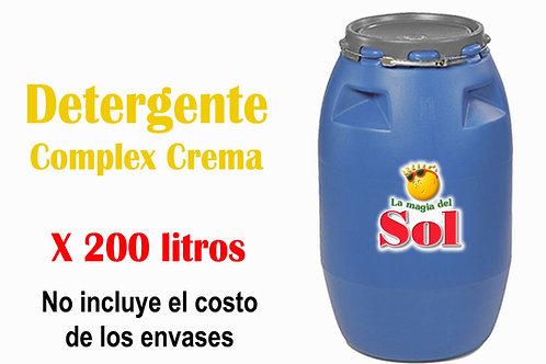 Detergente Complex Crema X 200 Litros