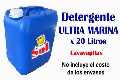 Detergente Ultra Marina X 20 Litros
