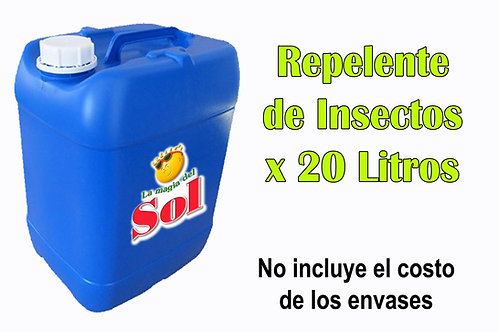 Repelente de Insectos X 20 Litros