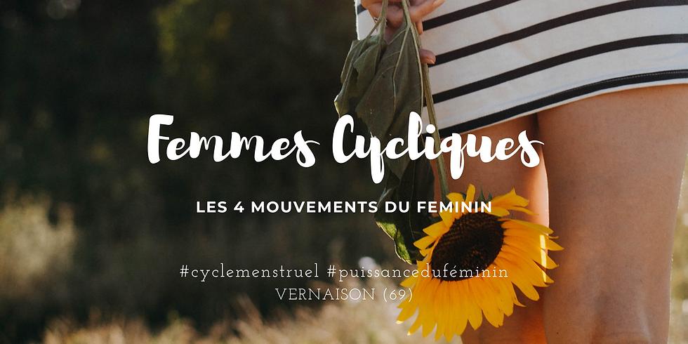 Femmes Cycliques : les 4 mouvements du Féminin