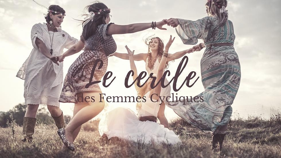 Femmes Cycliques Cercle de femmes en ligne