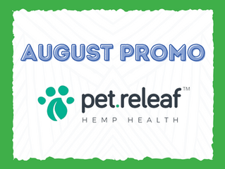 August Promo: Pet Releaf