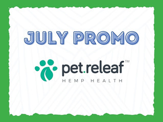 July Promo: Pet Releaf