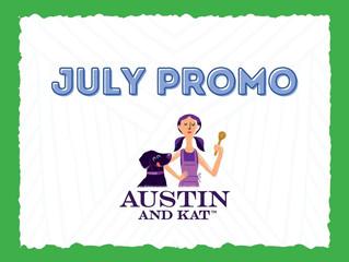 July Promo: Austin & Kat