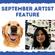 Artist Feature for September : Swagata Sarkar