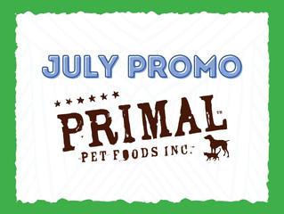 July Promo: Primal Freeze Dried Food