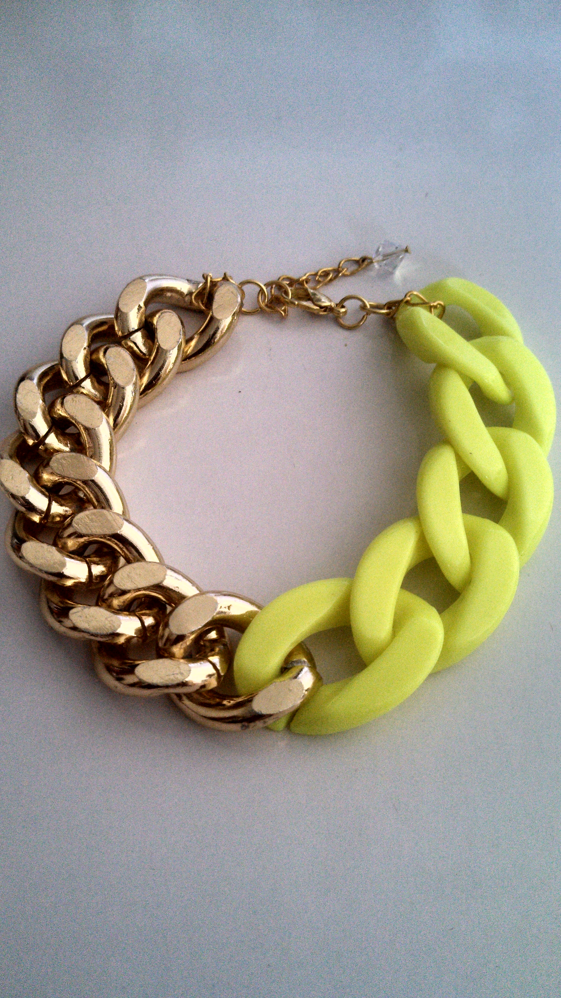 Two tone chunky chain link