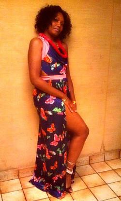 Custom designer dress