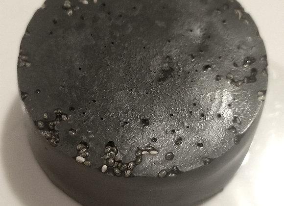 Exfoliating black soap