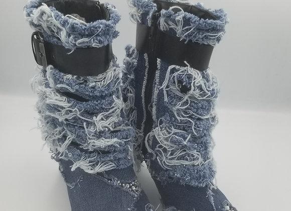 Sheila denim boots