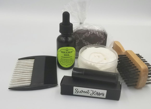 Mens facial grooming kit