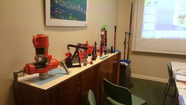 impresiones 3d printing oil gas