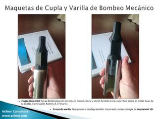 Impresión 3D de una varilla de bombeo