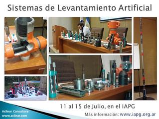 """Curso """"Sistemas de Levantamiento Artificial"""" en el IAPG"""