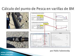 Planilla para el Cálculo del punto de pesca en varillas de Bombeo Mecánico