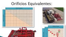 Tabla de Orificios Equivalentes para well testing.