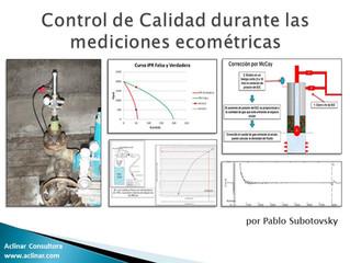 Control de calidad en mediciones ecométricas